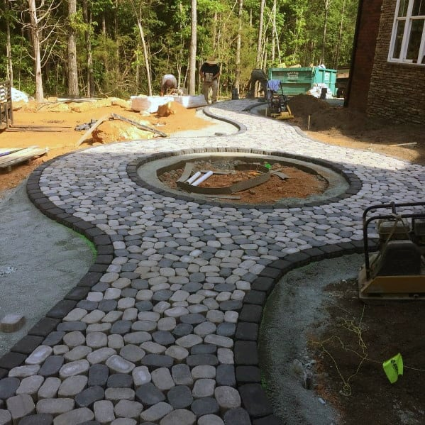 Top 60 Best Paver Patio Ideas - Backyard Dreamscape Designs on Yard Paver Ideas  id=71359