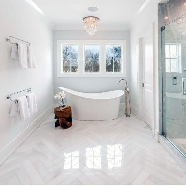 Top 60 Best Bathroom Floor Design Ideas Luxury Tile Flooring Inspiration