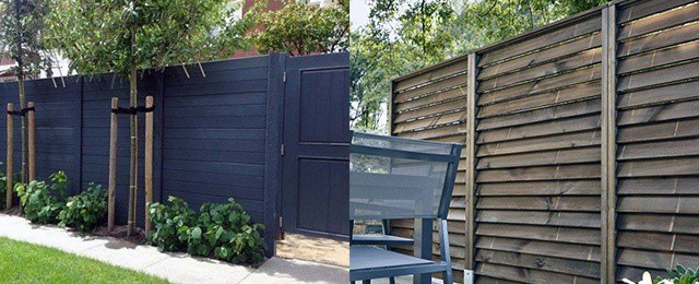 Top 50 Best Privacy Fence Ideas - Shielded Backyard Designs on Decorations For Privacy Fence id=42689
