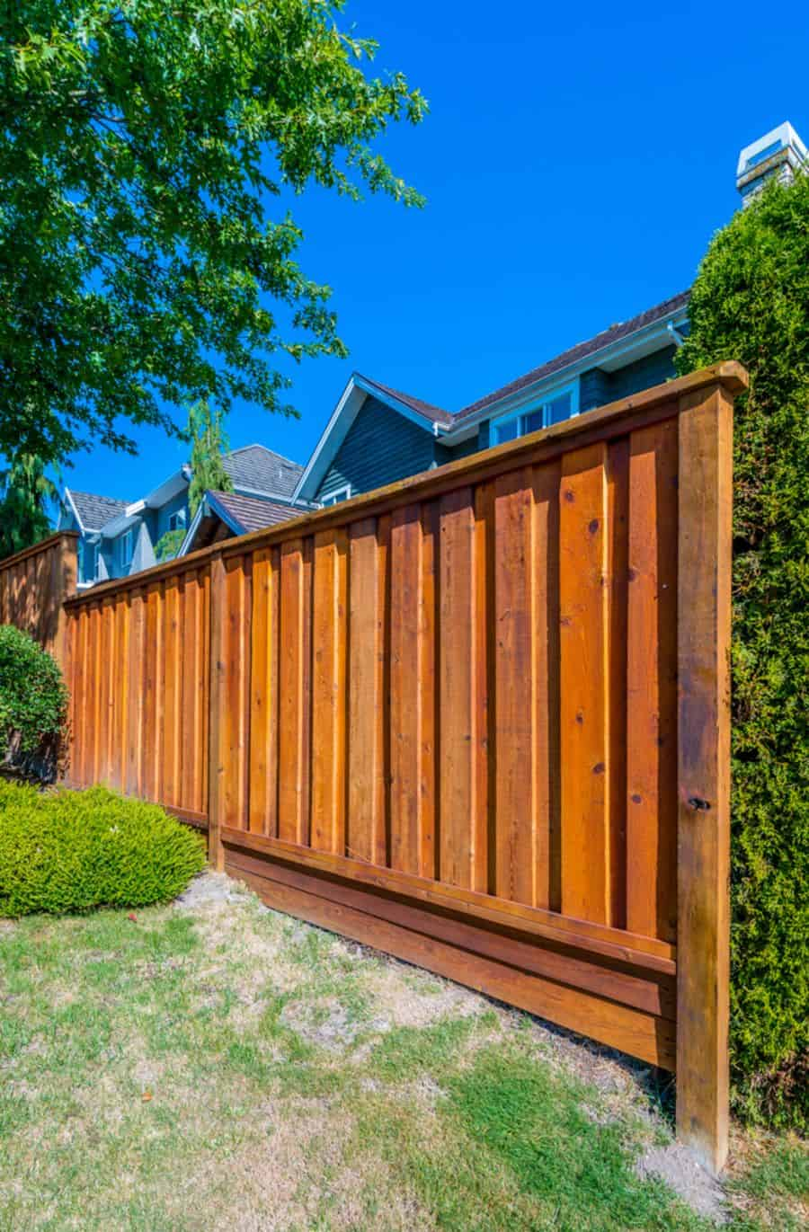 The 80 Best Wood Fence Ideas - Landscaping Inspiration on Decorations For Privacy Fence id=61201