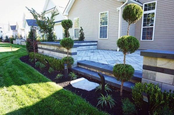 60 Concrete Patio Ideas - Unique Backyard Retreats on Raised Patio Designs  id=15352