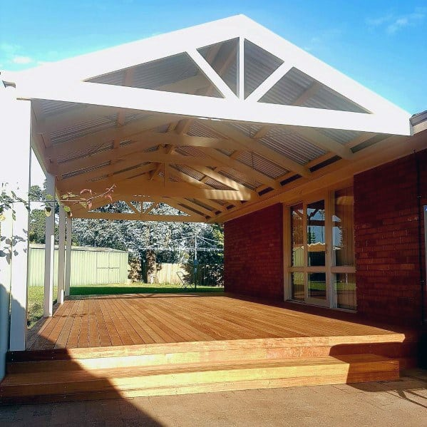 Top 60 Best Floating Deck Ideas - Contemporary Backyard ... on Floating Patio Ideas id=71160