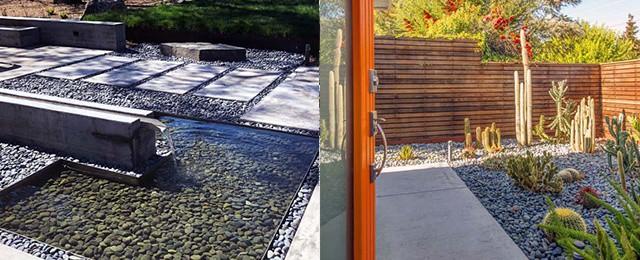 best river rock landscaping ideas