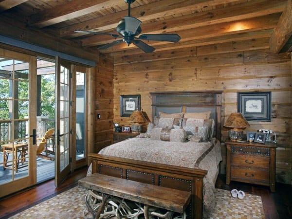 top 100 best rustic bedroom ideas