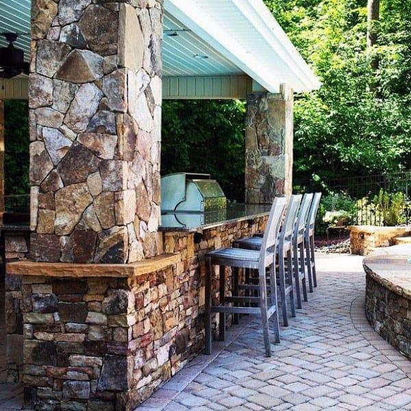 Top 50 Best Backyard Outdoor Bar Ideas - Cool Watering Holes on Best Backyard Bars  id=76557