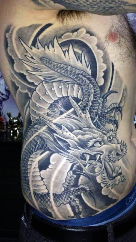 Dragon Mythical Tattoos
