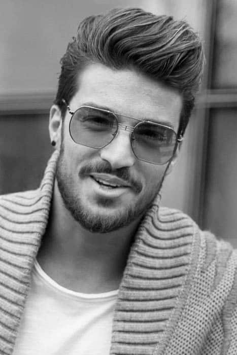 75 Mens Medium Hairstyles For Thick Hair Manly Cut Ideas