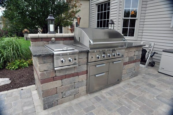 Top 50 Best Built In Grill Ideas - Outdoor Cooking Space ... on Built In Grill Backyard id=87469