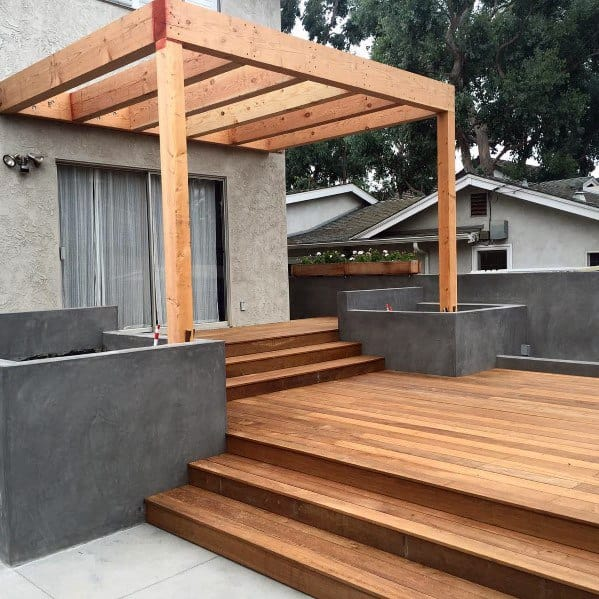 Top 40 Best Deck Roof Ideas - Covered Backyard Space Designs on Wood Deck Ideas For Backyard  id=15511