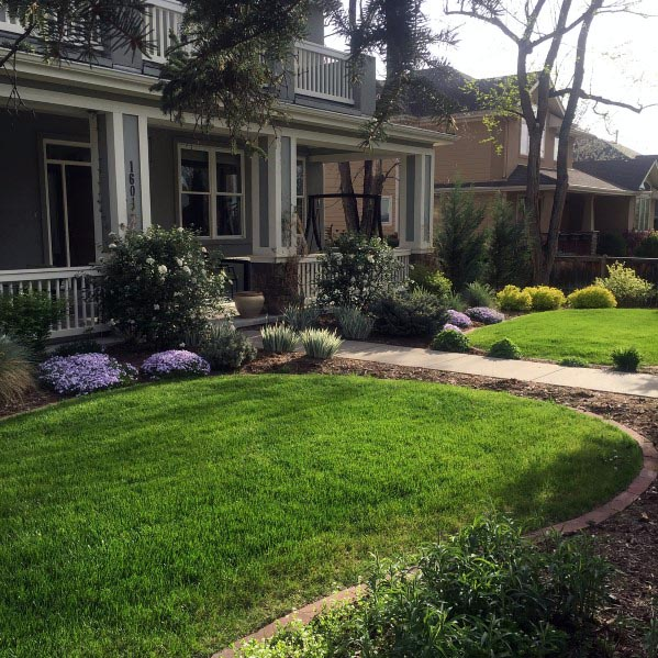 Top 70 Best Front Yard Landscaping Ideas - Outdoor Designs on Landscape Front Yard Ideas  id=82778