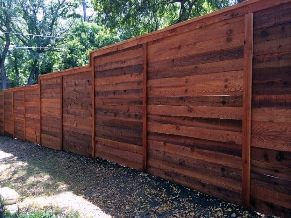 Top 50 Best Privacy Fence Ideas - Shielded Backyard Designs on Decorations For Privacy Fence id=66707