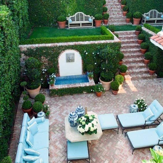 Top 50 Best Brick Patio Ideas - Home Backyard Designs on Backyard Brick Patio id=49385
