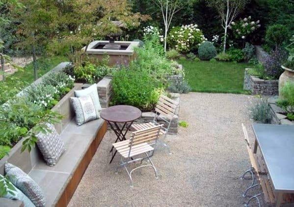 Top 40 Best Gravel Patio Ideas - Backyard Designs on Backyard With Gravel Ideas id=98123