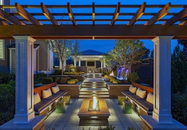 Top 50 Best Backyard Pavilion Ideas - Covered Outdoor ... on Small Backyard Layout id=22700