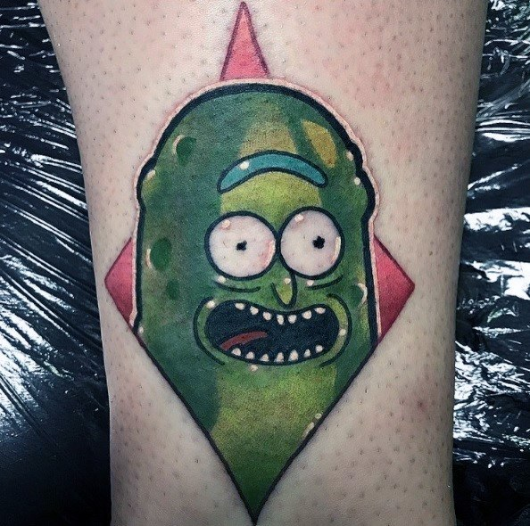 Rick And Morty Tattoos Simple