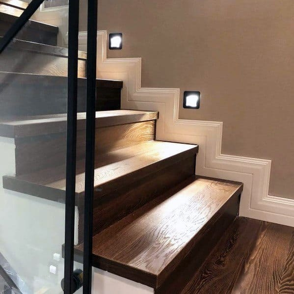 Top 60 Best Staircase Lighting Ideas Illuminated Steps | Designs For Staircase Wall | Stairwell | Stylish | Luxury | Painting | Stone