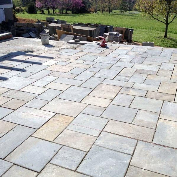 Top 60 Best Flagstone Patio Ideas - Hardscape Designs on Square Patio Designs  id=30642