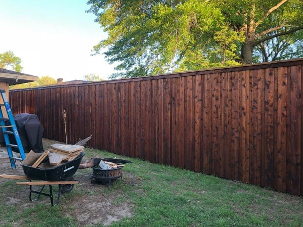 Top 50 Best Privacy Fence Ideas - Shielded Backyard Designs on Decorations For Privacy Fence id=71099