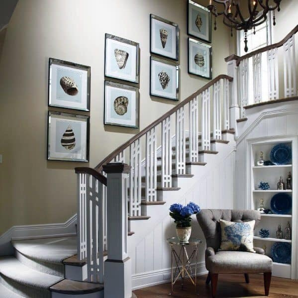 Top 70 Best Stair Railing Ideas Indoor Staircase Designs | Home Stair Railing Design | Grill | Living Room | Inside | Small House | Outside Staircase Grill