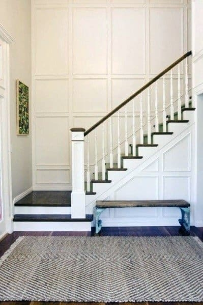 Top 60 Best Stair Trim Ideas Staircase Molding Designs | Steps Side Wall Designs | Bedroom | Small House | Marble | Dining Room | Wall Highlight