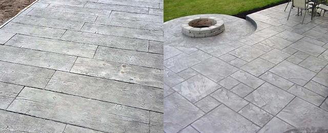 best stamped concrete patio ideas