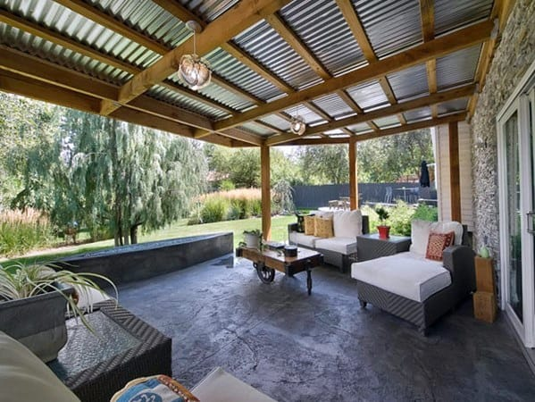 Top 60 Patio Roof Ideas - Covered Shelter Designs on Roof For Patio Ideas id=89348