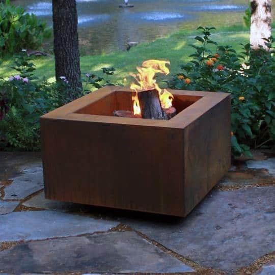 Top 60 Best Metal Fire Pit Ideas - Steel Backyard Designs on Fire Pit Inspiration  id=89931