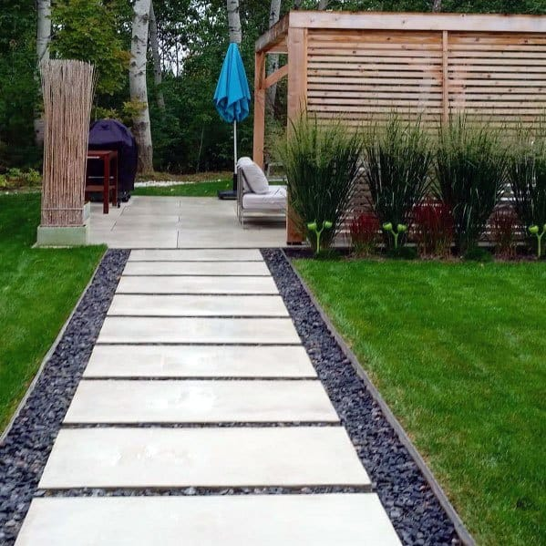 Top 70 Best Stepping Stone Ideas - Hardscape Pathway Designs on Stepping Stone Patio Ideas  id=14337