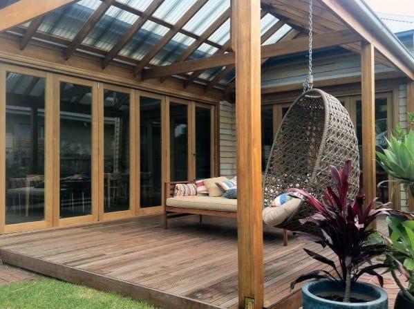 Top 40 Best Deck Roof Ideas - Covered Backyard Space Designs on Covered Back Deck Designs id=78249