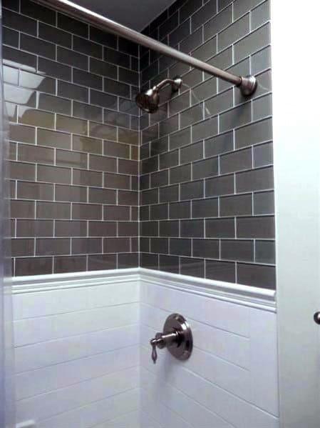 Top 50 Best Subway Tile Shower Ideas - Bathroom Designs on Bathroom Ideas Subway Tile  id=73169