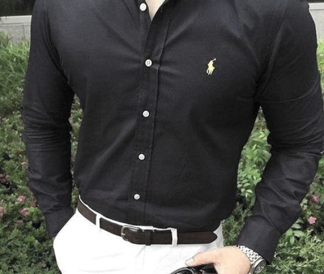 Stylish What To Wear With White Jeans Outfits Style Ideas For Guys Dark Navy Dress Shirt