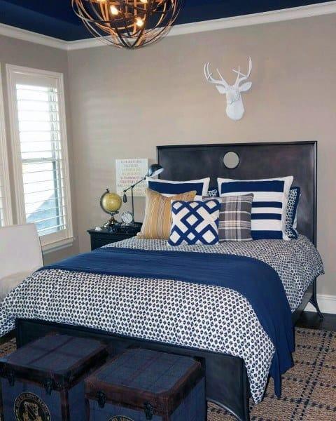 Top 70 Best Teen Boy Bedroom Ideas - Cool Designs For ... on Teenage Bedroom Ideas Boy  id=31780