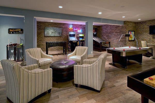 To create a space in your home for your teens to get away with their friends, start with a list of game room ideas. 60 Game Room Ideas For Men - Cool Home Entertainment Designs