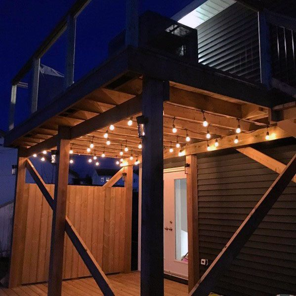 Top 60 Best Deck Lighting Ideas Outdoor Illumination