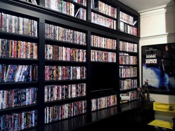 40 DVD Storage Ideas Organized Movie Collection Designs