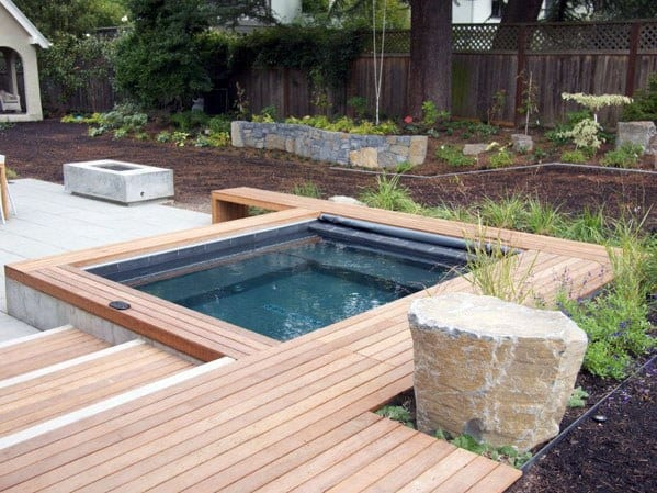 Top 80 Best Hot Tub Deck Ideas - Relaxing Backyard Designs on Deck And Hot Tub Ideas  id=32459