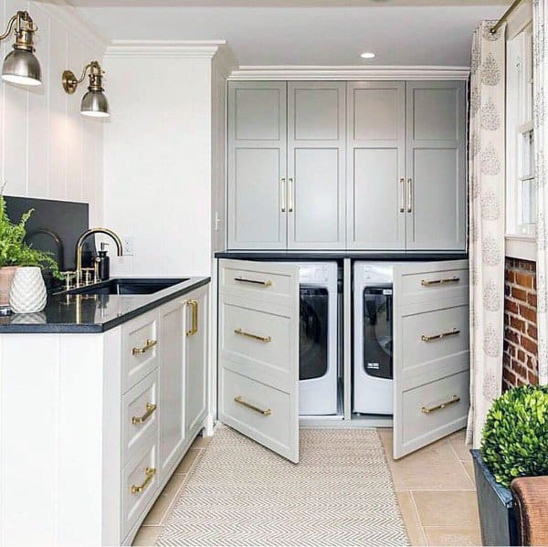 top 50 best laundry room ideas modern and modish designs on best laundry room designs id=31102