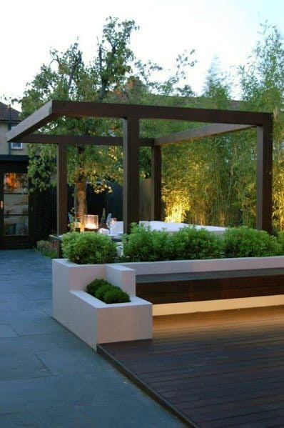 Top 70 Best Modern Patio Ideas - Contemporary Outdoor Designs on Modern Backyard Patio Ideas  id=38423