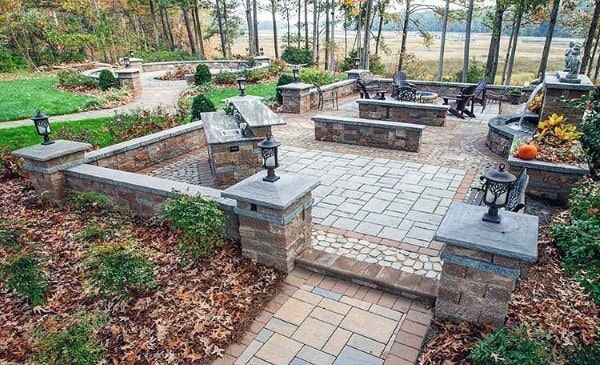 Top 60 Best Outdoor Patio Ideas - Backyard Lounge Designs on Cool Backyard Patio Ideas id=54678