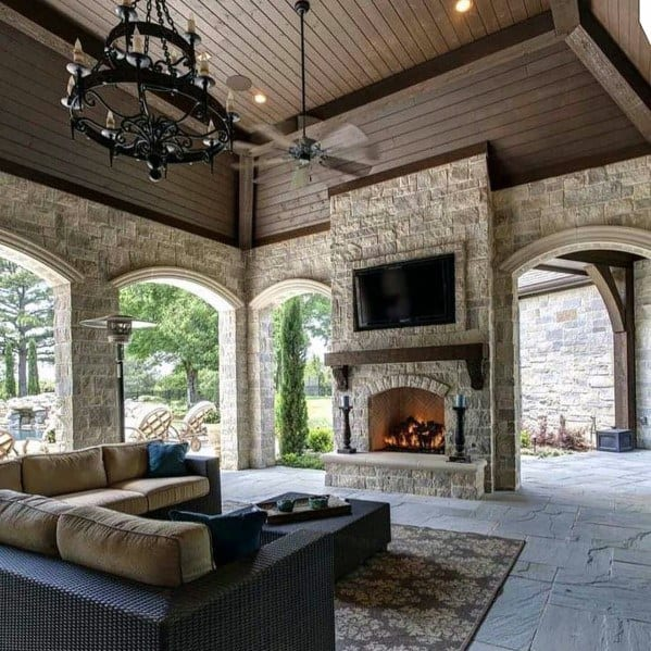 Top 60 Patio Roof Ideas - Covered Shelter Designs on Roof For Patio Ideas id=84248