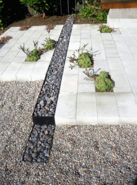 Top 50 Best River Rock Landscaping Ideas - Hardscape Designs on Rock Patio Designs  id=69258