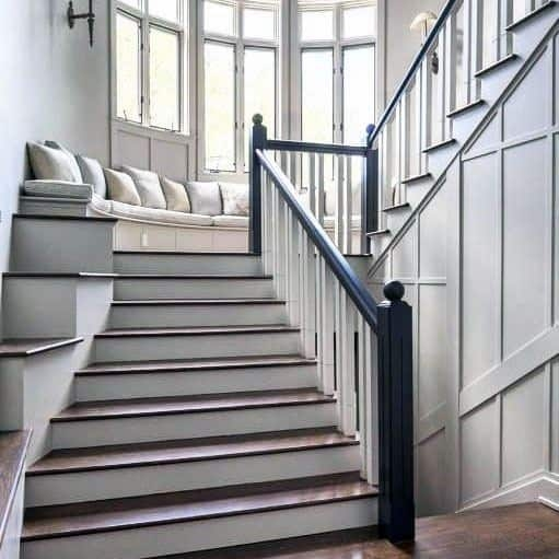 Top 70 Best Stair Railing Ideas Indoor Staircase Designs   Stairs Railing Designs In Steel With Glass   Balcony   Wooden   Modern   Guardrail   Stainless Steel