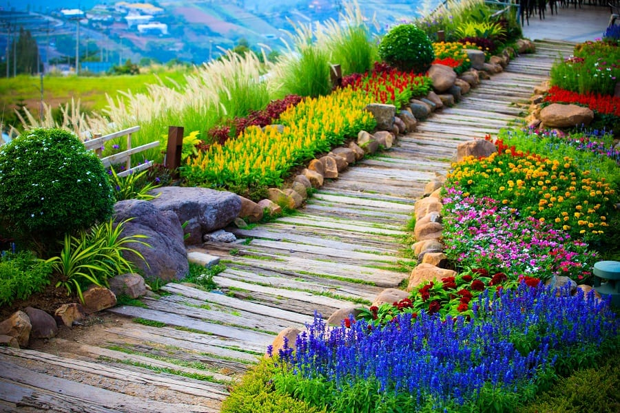Top 70 Best Walkway Ideas - Unique Outdoor Pathway Designs on Backyard Walkway Ideas id=73120