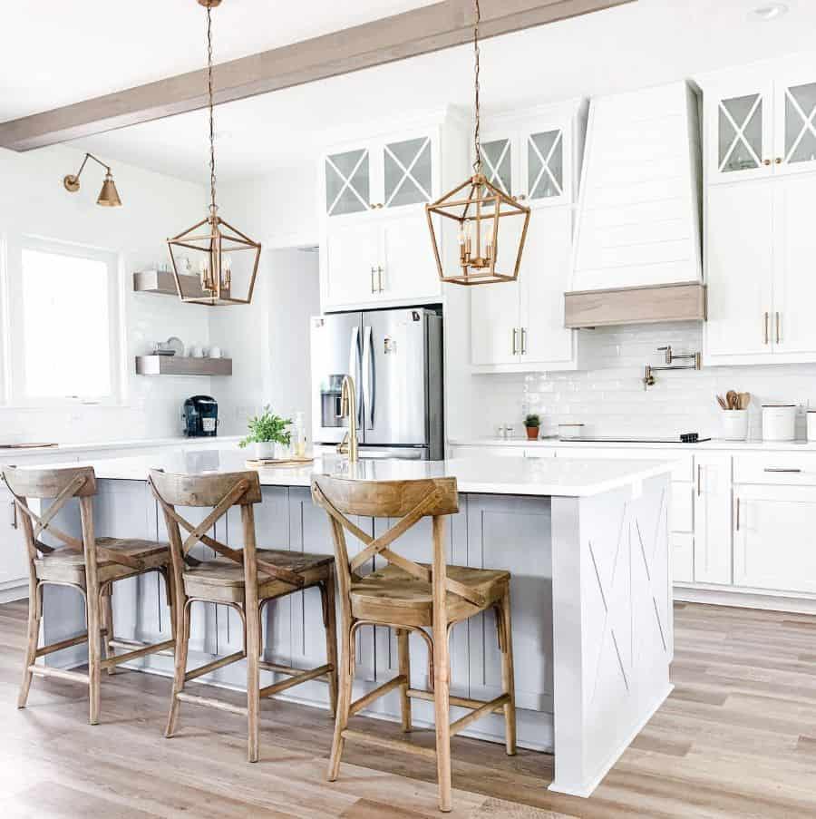 The Top 70+ Best Modern Farmhouse Kitchen - Interior Home ... on Luxury Farmhouse Kitchen  id=58636