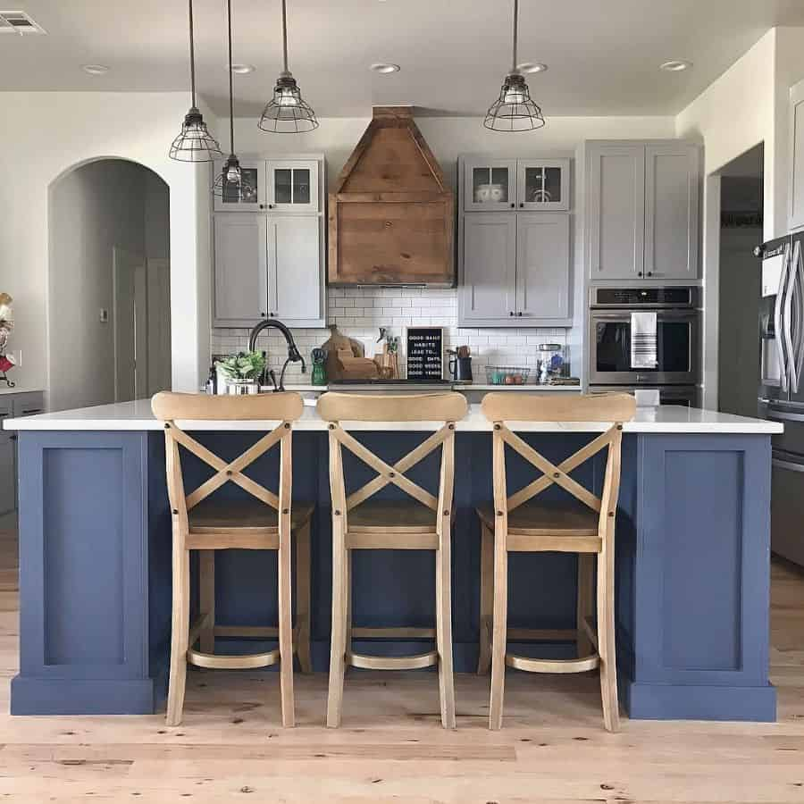 The Top 70+ Best Modern Farmhouse Kitchen - Interior Home ... on Luxury Farmhouse Kitchen  id=81293