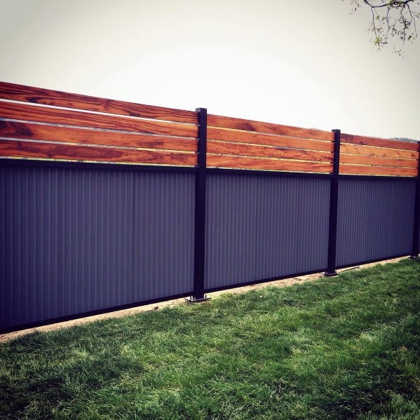 Top 50 Best Privacy Fence Ideas - Shielded Backyard Designs on Decorations For Privacy Fence id=89087