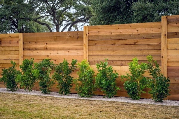 Top 50 Best Privacy Fence Ideas - Shielded Backyard Designs on Decorations For Privacy Fence id=83296