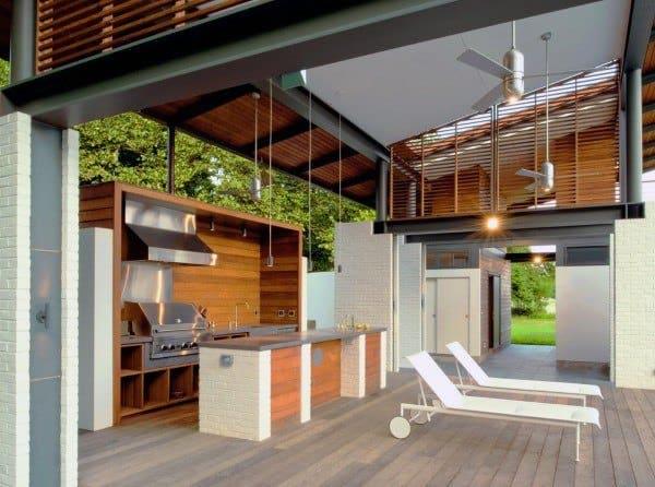 Top 60 Best Outdoor Kitchen Ideas - Chef Inspired Backyard ... on Backyard Kitchen Design id=62233