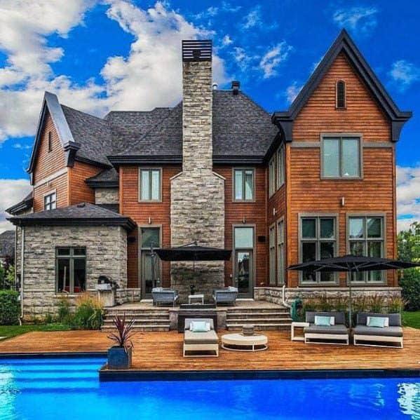 Top 60 Best Exterior House Siding Ideas - Wall Cladding ... on Modern Vinyl Siding Ideas  id=95386