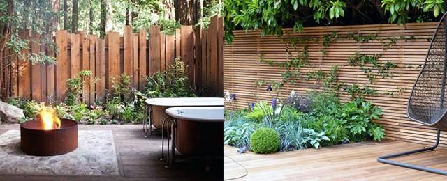 Top 70 Best Wooden Fence Ideas - Exterior Backyard Designs on Backyard Wooden Fence Decorating Ideas  id=94398